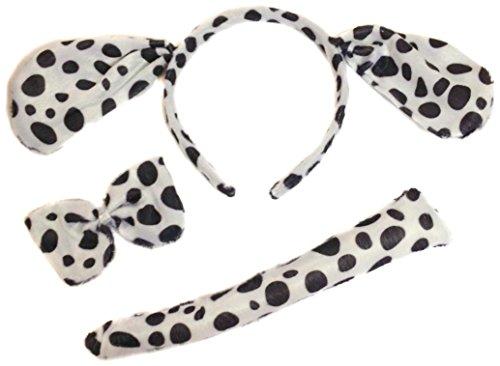 Allsorts® Dalmation Fancy Dress Dog Outfit Dressing Up Dog Set by Allsorts®