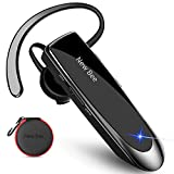 New bee Auricolare Bluetooth Mani Libere Cuffia Bluetooth Mono per Huawei Samsung iPhone Cellulari Android Laptop e Altro