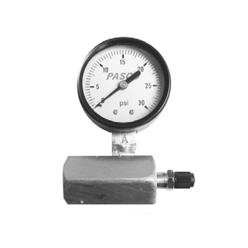 Pasco 1420 60-Pound Gas Test Gauge Assembly by Pasco - Gas Test Gauge Assembly