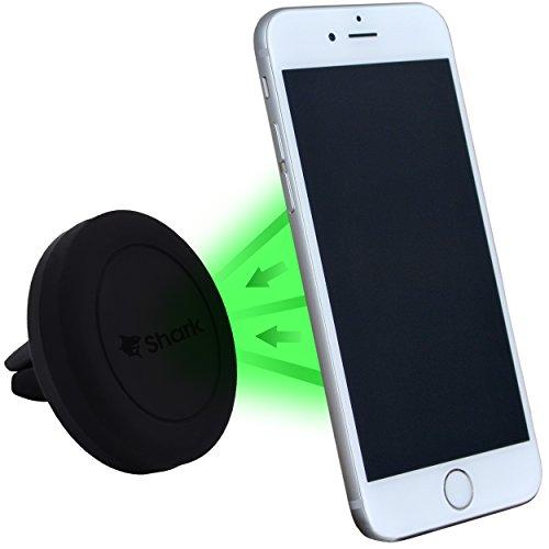 Shark MultiFix Universal KFZ Auto Handy-Halter Magnet-Halterung an der Lüftung/am Lüftungsschlitz für Smartphones, MP3 Player, Navi/Navigationsgeräte, GPS Geräte