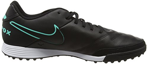Nike Tiempox Genio Ii Leather Tf, Entraînement de football homme Noir