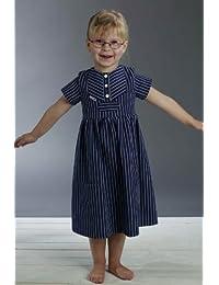Fischerkleid für Kinder breit gestreift klassischer Stil von Modas alle Größen