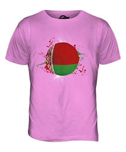 CandyMix Weißrussland Fußball Herren T Shirt Rosa