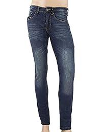 Jeans bleu brut homme BASIC SLIM Biaggio