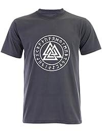 PALLAS Men's Valknut Symbols T Shirt