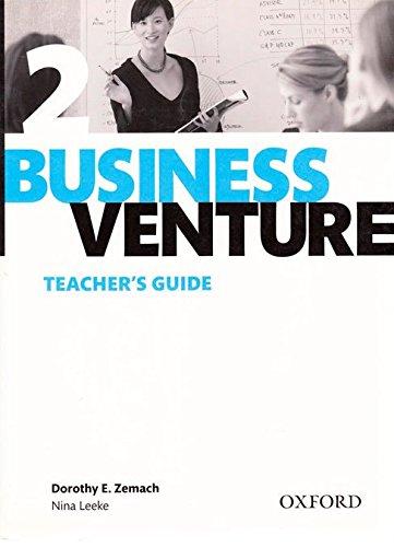Business Venture 2 Pre-Intermediate: Business Venture 2. Teacher's Guide 3rd Edition