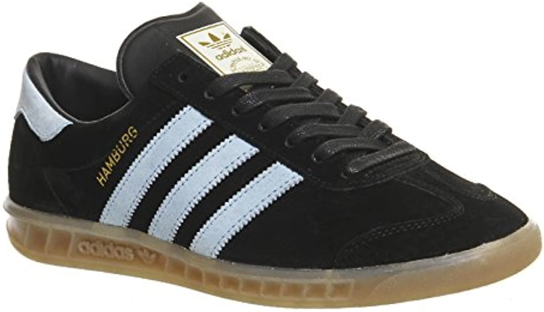 adidas Originals Hamburg Schuhe Herren Sneaker Turnschuhe Schwarz S74833  Größenauswahl:40 2/3