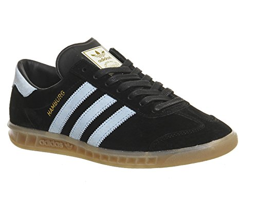 Adidas Hamburg (S74833) core black/blush blue/vintage white