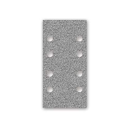 MENZER Platinum Klett-Schleifblätter, 180 x 93 mm, 8-Loch, Korn 40, f. Schwingschleifer, Halbedelkorund (50 Stk.)