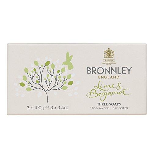 Bronnley Zitrus-, Limetten- und Bergamotte-Seife - Zitrus Duftende Seife