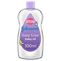 JOHNSON'S Baby, Baby Oil, Sleep Time, 300ml