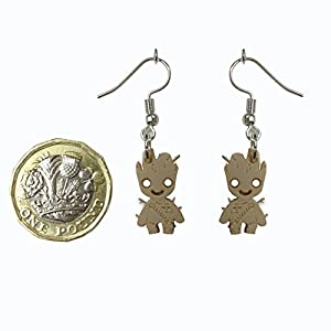 Guardians of the Galaxy Baby Groot Earings