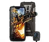 telephone portable incassable (Caméra de vision nocturne )Blackview BV9700 Pro - Smartphone étanche IP68 5,9''FHD +, Helio P70 Octa 6GB + 128Go Android 9.0, moniteur et moniteur de fréquence cardiaque