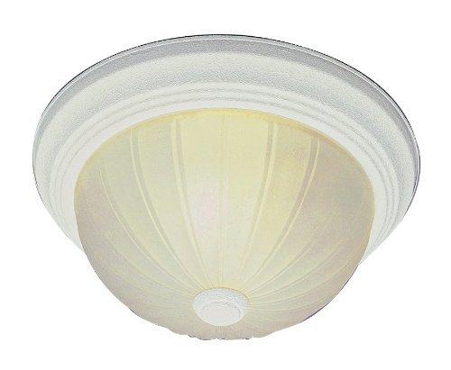 Trans Globe Lighting 13213-1 AW 2-Light Flush-Mount, Antique White by Trans Globe Lighting -