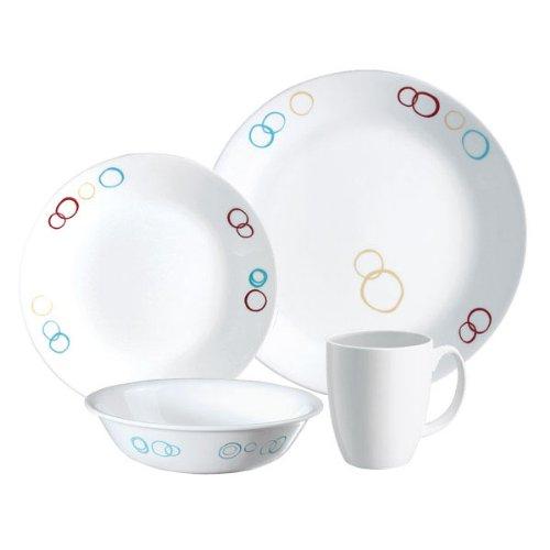 servicio-de-mesa-corelle-livingware-para-4-personas-16-habitaciones-decoracion-circulos-vitrelle-roj