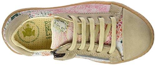 El Naturalista Kids PAN EU Jasper, Sneakers Basses Fille Multicolore (Floral White)