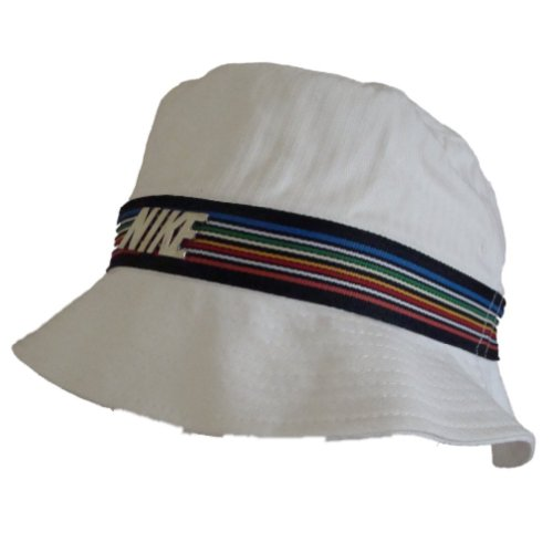 Nike-Bucket-Hat-wei-Rainbow-stripe-unisex-HerrenFrauen