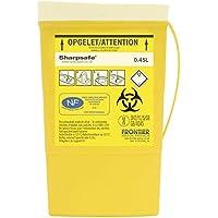 Sharpsafe Behälter für fhshar30mannigfaltigkeit für Krankenschwester, 0,45l, 169mm Höhe x 103mm Nadel Länge x 50mm Breite, Gelb (100Stück)