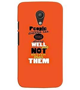 TOUCHNER (TN) People Wanna See Back Case Cover for Motorola Moto G2 X1068::Motorola Moto G (2nd Gen)