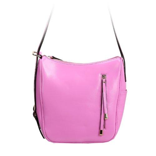 E-Girl Q0434 donna Borse a spalla,Borse a tracolla26x23x15 cm (B x H x T) Pink