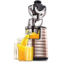 HhGold Exprimidor, Calibre Grande, máquina de Jugo, exprimidor automático casero, multifunción,