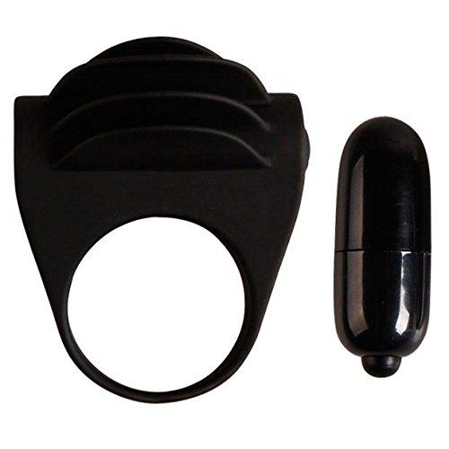 Silikon Cockring Penis-Ring Vibrator mit Klitoris Stimulation (Lamellen (Kondom Hunde Für Kostüm)