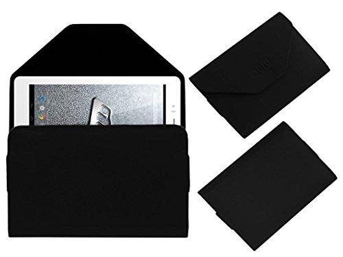 ACM Premium Pouch Case for Micromax Canvas Tab P470 Flip Flap Cover Holder Black
