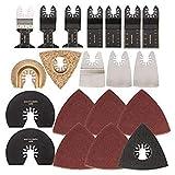 Bloomerang 40Pcs Mix Saw Blade Set Oscillating Multitool Saw Blade for Fein Craftsman