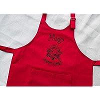 Tablier enfant personnalisé Petit Chef, tablier enfant, tablier cuisine, cadeau personnalisé, cadeau personnalisable, tablier garçon