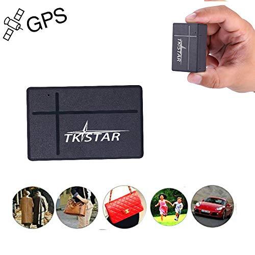 Mini GPS Tracker, TKSTAR Mini Echtzeit GPS Tracker Tragbare GPS Tracking Anti Verlust GPS Locator für Geldbörse Tasche Kinder Schulranzen Wichtige Dokumente Auto Verloren Finder mit APP TK903A