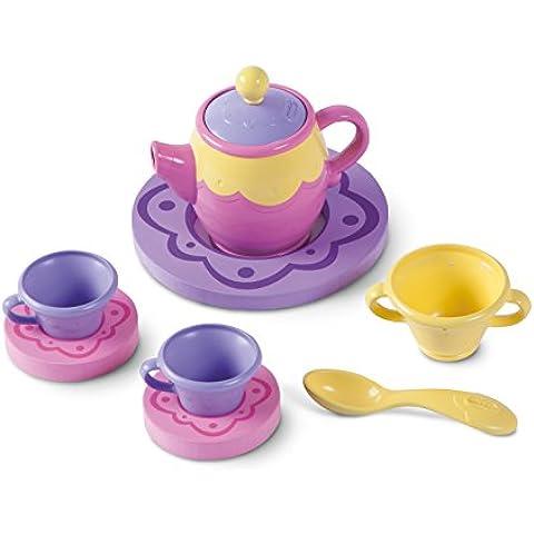 Little Tikes Bath Time Tea - juguetes para baño y pegatinas (Bath playset, Niño/niña, Caja abierta, Rosa, Violeta, Amarillo, De plástico, CE)