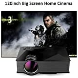 SLB Works Brand New Full HD 1080P Home Theater AV TV/SD/USB/VGA/HDM WIFI LCD LED Mini Projector