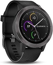 Garmin Vivoactive 3 GPS Smartwatch, Svart