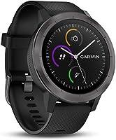 Garmin vívoactive 3 GPS-fitness-smartwatch - vooraf geïnstalleerde sport-apps, contactloze betaling met Garmin Pay, Gunmetal