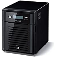 Buffalo TeraStation 5400D 4-Bay 8TB RAID 0 Desktop Network Attached Storage with Intel Atom