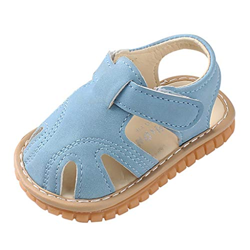 y Schuhe Mädchen Jungen Strandsandalen Römische Schuhe Sandalen Erste Wanderer Schuhe mit weicher Sohle ()