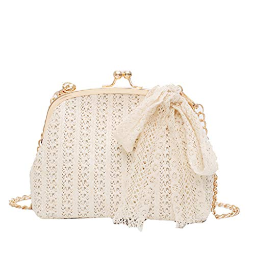 OIKAY Mode Damen Tasche Handtasche Schultertasche Umhängetasche Mode Neue Handtasche Frauen Umhängetasche Schultertasche Strand Elegant Tasche Mädchen 0605@049