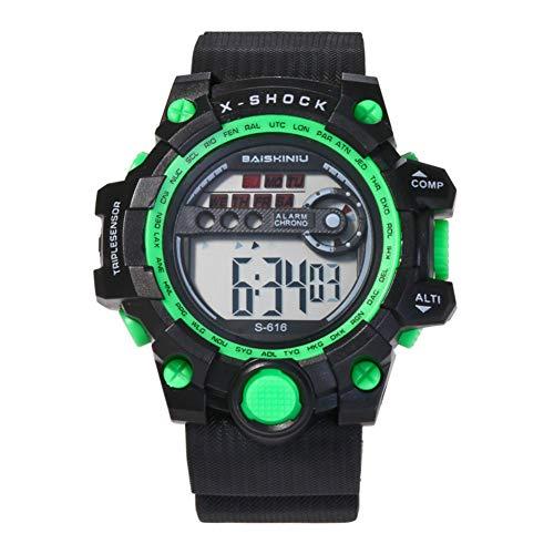 Kinder Digital Multi Funktionskinder-Digitaluhrkinderuhr für Jungen-Digitaluhr-Mädchen wasserdicht Uhren