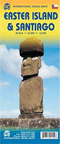 Easter Island (einschl.Stpl.Santiago de Chile) 1 : 24.000
