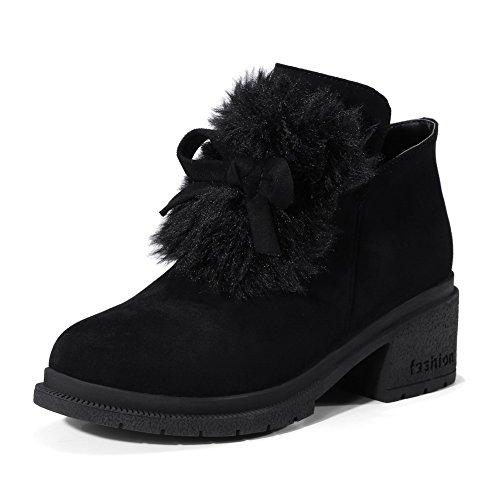 BalaMasa Abl10281, Sandales Compensées femme Noir