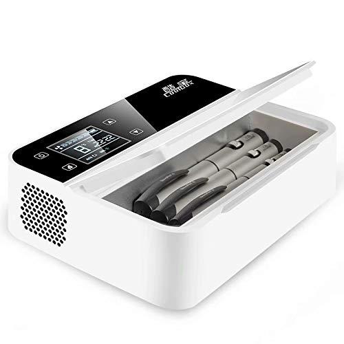 """Refrigerador y refrigerador de insulina para automóvil, viaje, hogar - Estuche de refrigeración portátil para automóvil / Caja de viaje pequeña para medicación   Gracias por elegir nuestra caja refrigeradora portátil (más bien llamada """" Medicamento ..."""