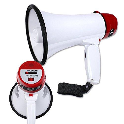 Schramm® Megafon Megaphone Lautsprecher Fan Handmegafon Handmikrofon