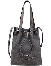 BYD - Mujeres School Bag Bolsos totes Bolsa de viaje Bucket Bag Canvas Bag Carteras de mano Bolsos bandolera Shopping Bag with Multi Strap