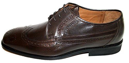 Manz 107052-02 mali ago, g calf buff-tR-chaussures basses homme - 187 t.d.moro marron) Marron - Marron