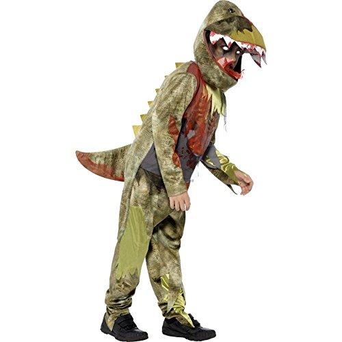 Halloween Kinder Kostüm toter Dinosaurier Dino Gr.4 bis 6 Jahre (Dino 2 Kinder Kostüme)