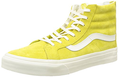 Vans Sk8-Hi, Baskets Basses Mixte Adulte Jaune (Scotchgard/Sunshine)
