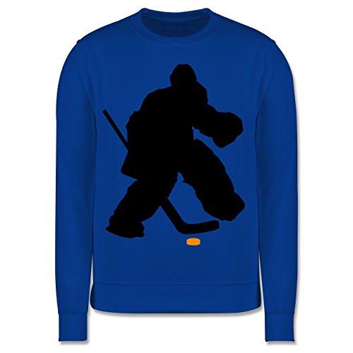 Sport Kind - Eishockeytorwart Towart Eishockey - 9-11 Jahre (140) - Royalblau - JH030K - Kinder Pullover