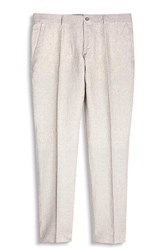 ESPRIT Collection Herren Anzughose Beige (Light Beige 290)