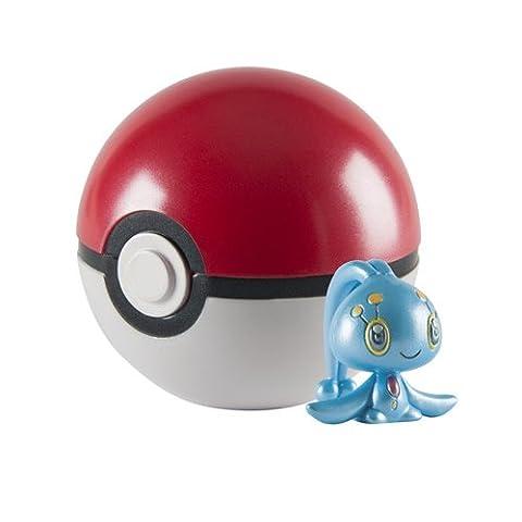 Pokemon 20th Anniversary Manaphy Figure with Pokeball