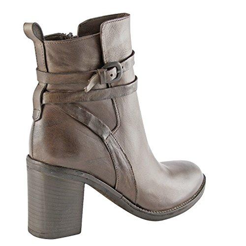 Exclusif Paris  Exclusif Paris Leora, Chaussures femme Bottines femme,  Damen Stiefel & Stiefeletten Braun - braun